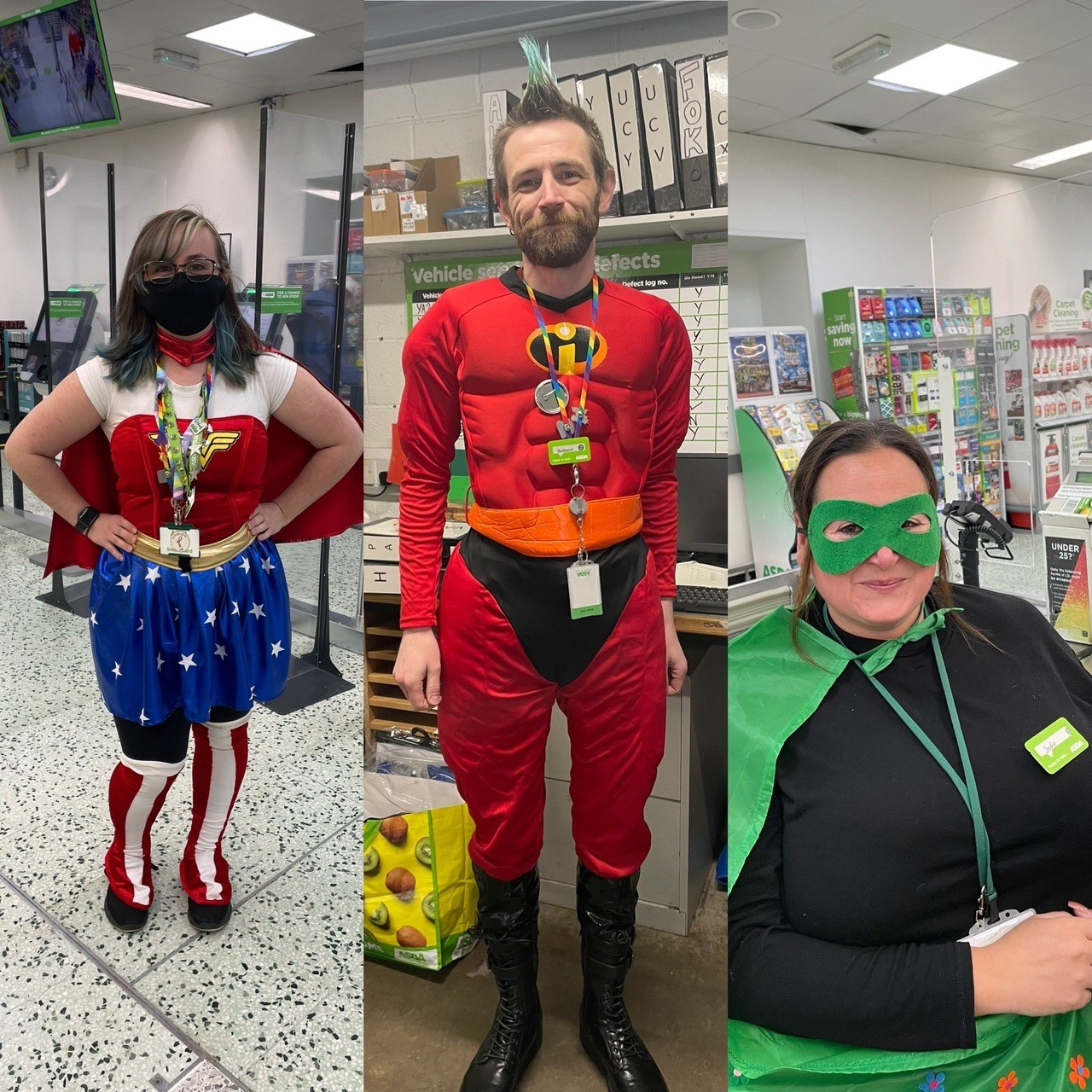 National Superhero Day | Asda Shrewsbury