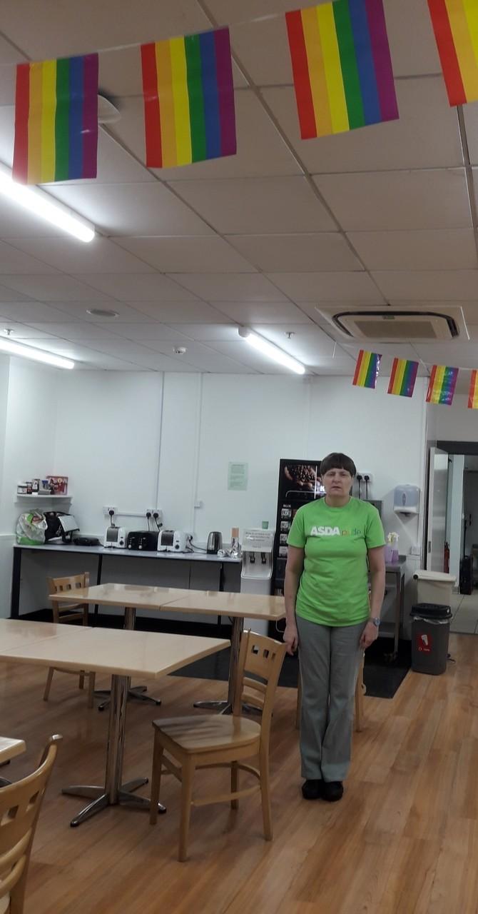 Supporting Pride | Asda Newport