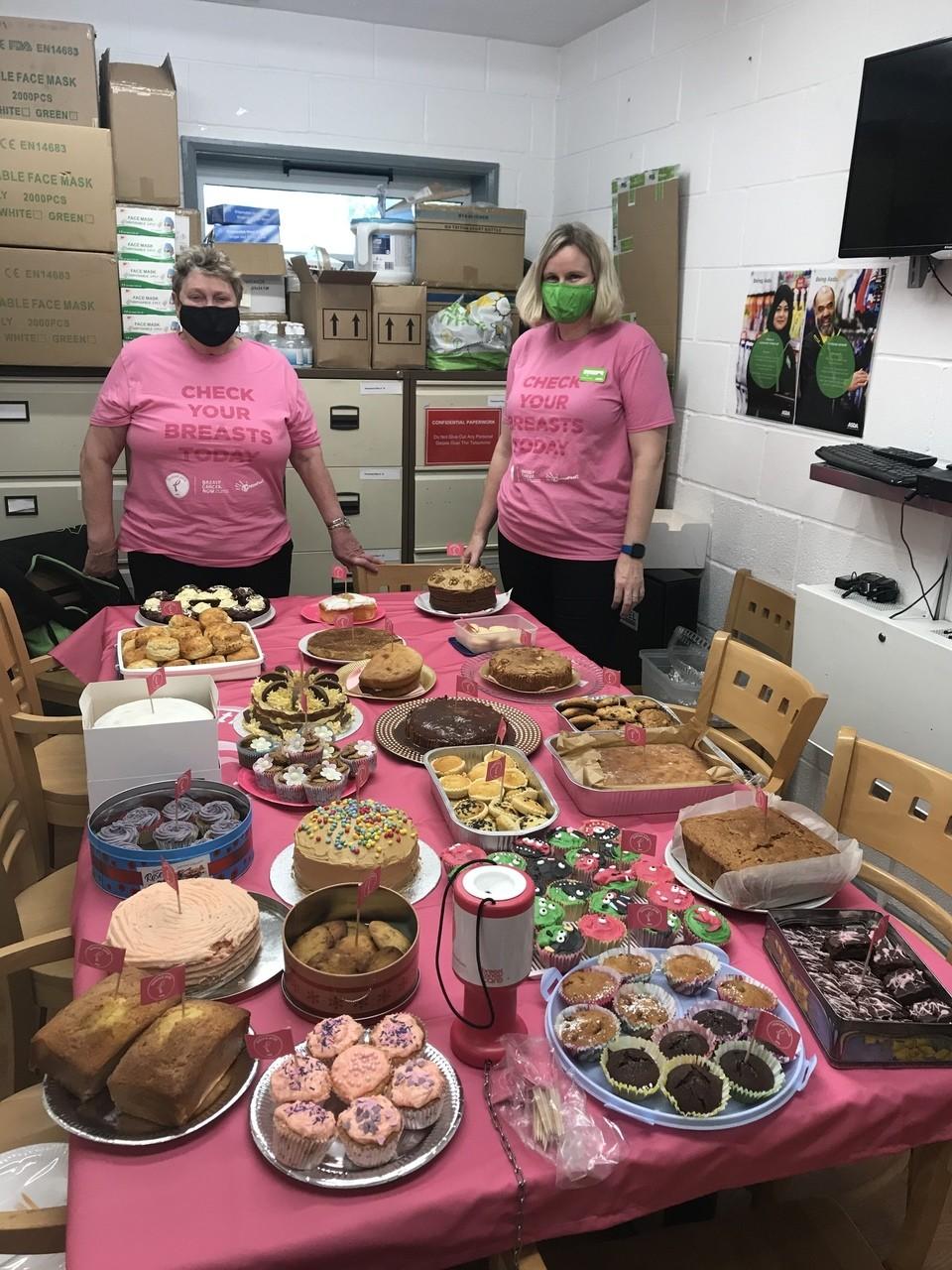 Gillingham Bake Off for Tickled Pink | Asda Gillingham