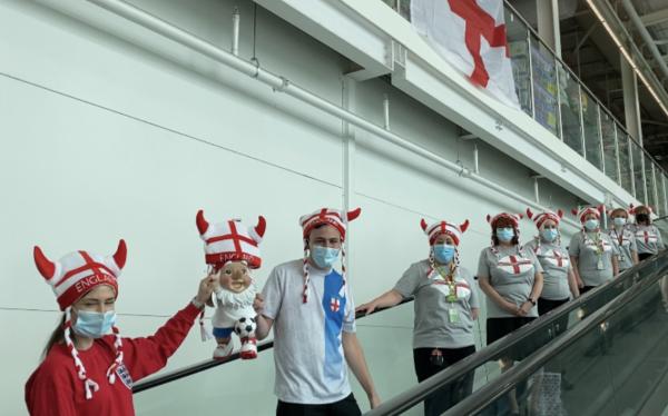 Asda Telford supports England at Euro 2020