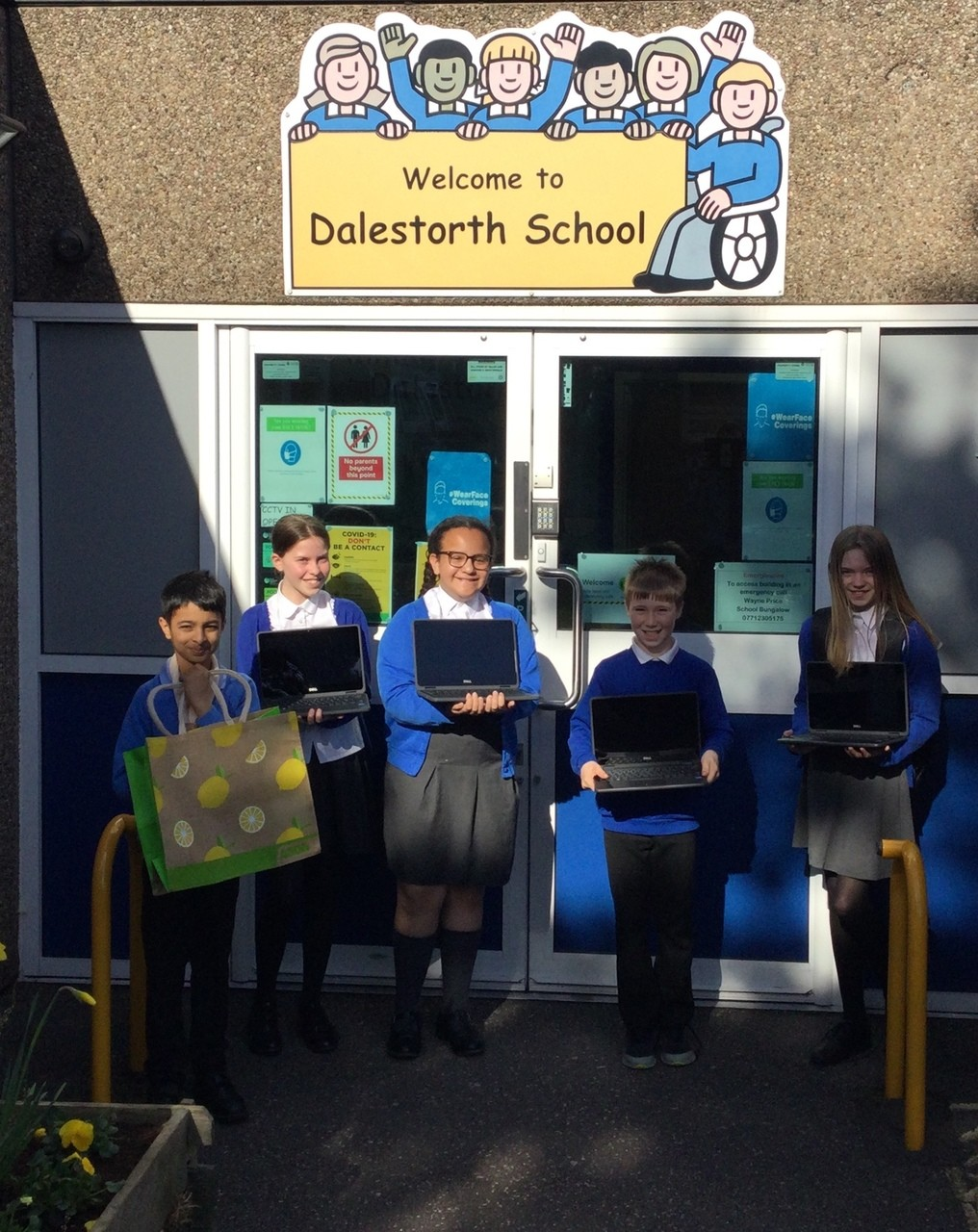 Laptop donations | Asda Sutton in Ashfield