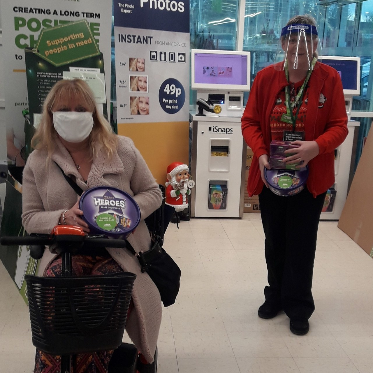 Christmas fundraiser | Asda Wrexham