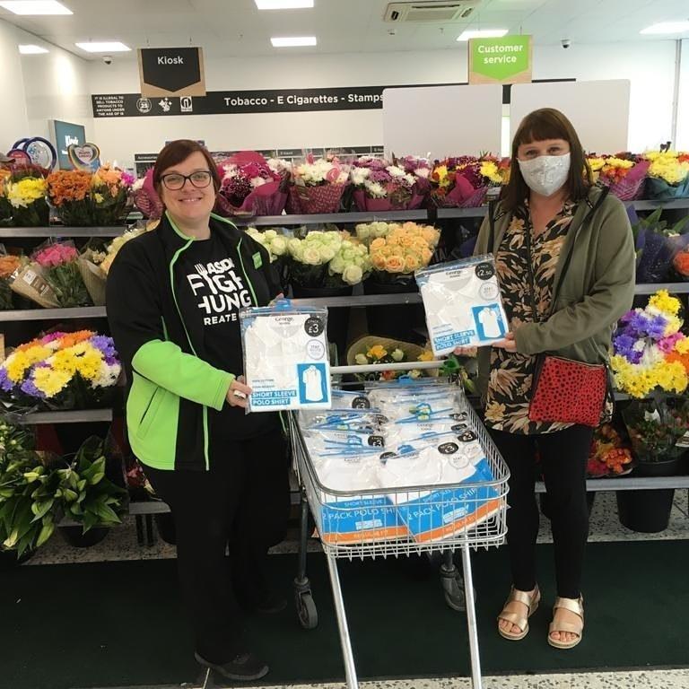 First Days school uniform donation | Asda Lower Earley