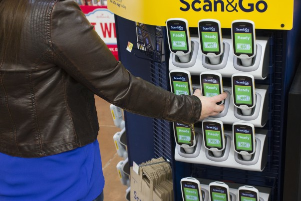 Walmart Scan & Go Device