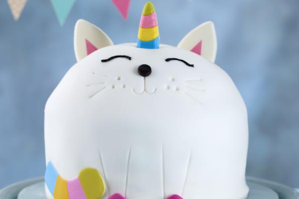 Asda Kittycorn Celebration Cake