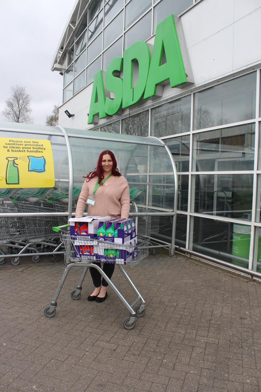 Easter Egg donation Bolton store. | Asda Bolton