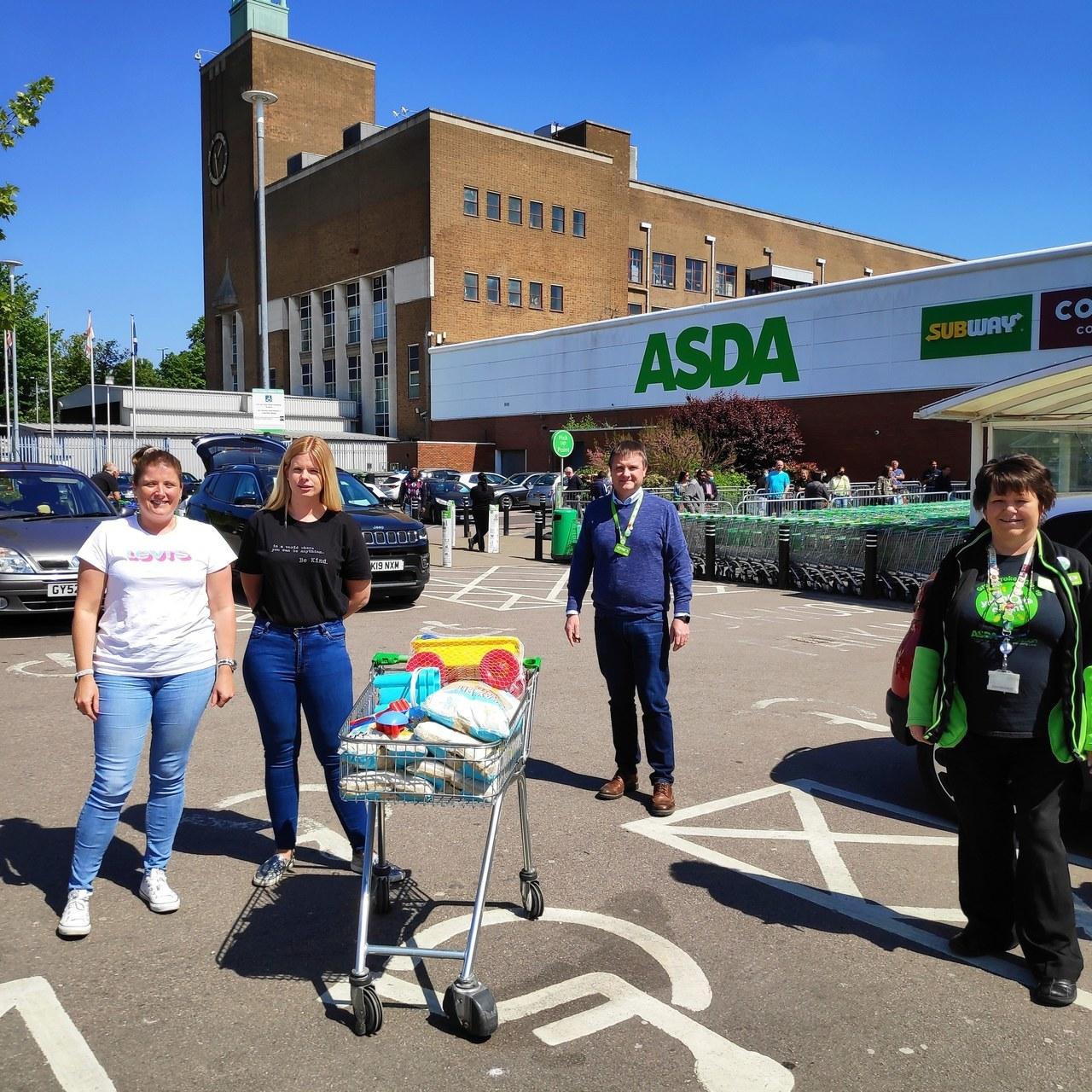 Donation time | Asda Watford