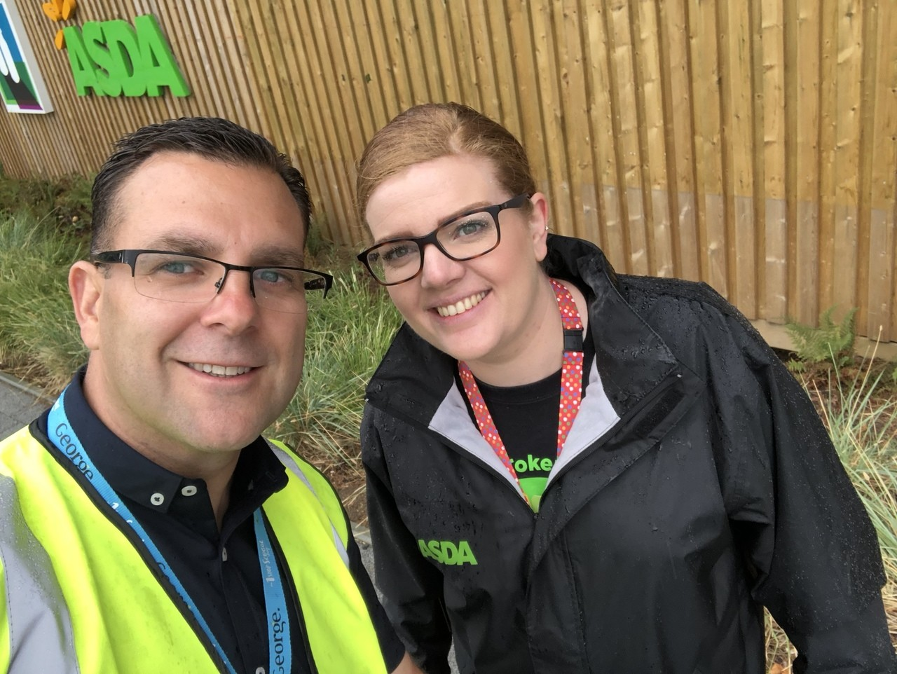 Asda South Ruislip colleagues Lee and Laura