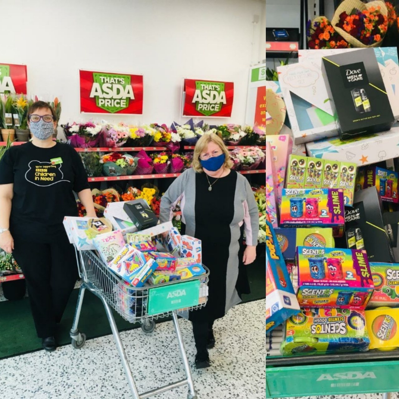 Reading Family Aid donation | Asda Lower Earley