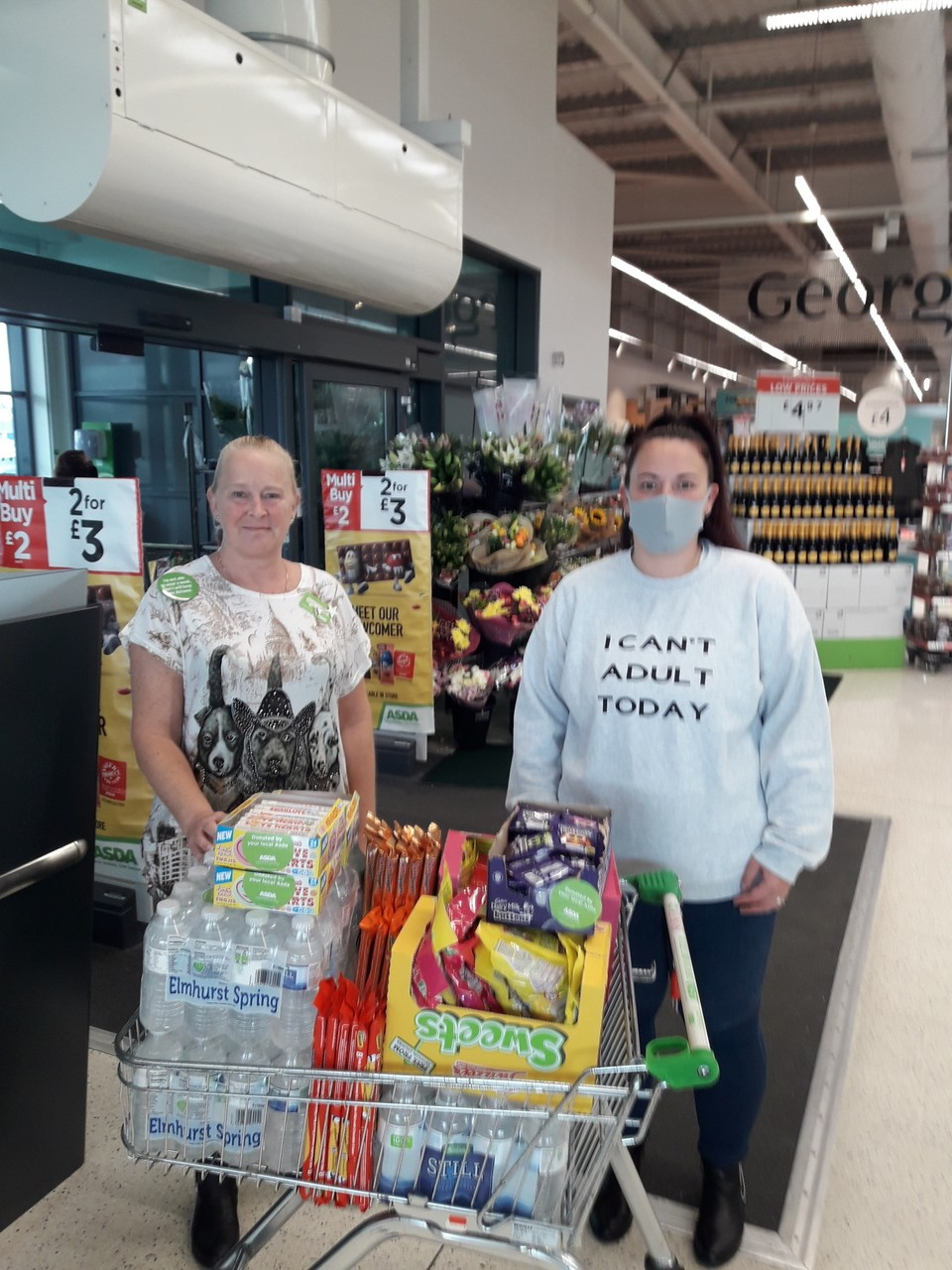 Treasure hunt donation | Asda Swinton