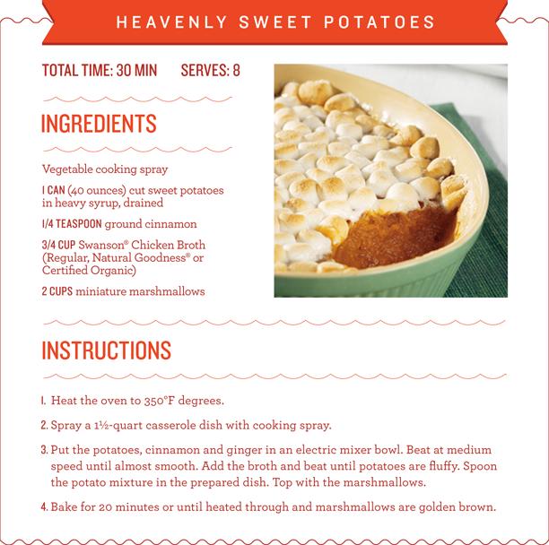 Heavenly Sweet Potatoes Recipe