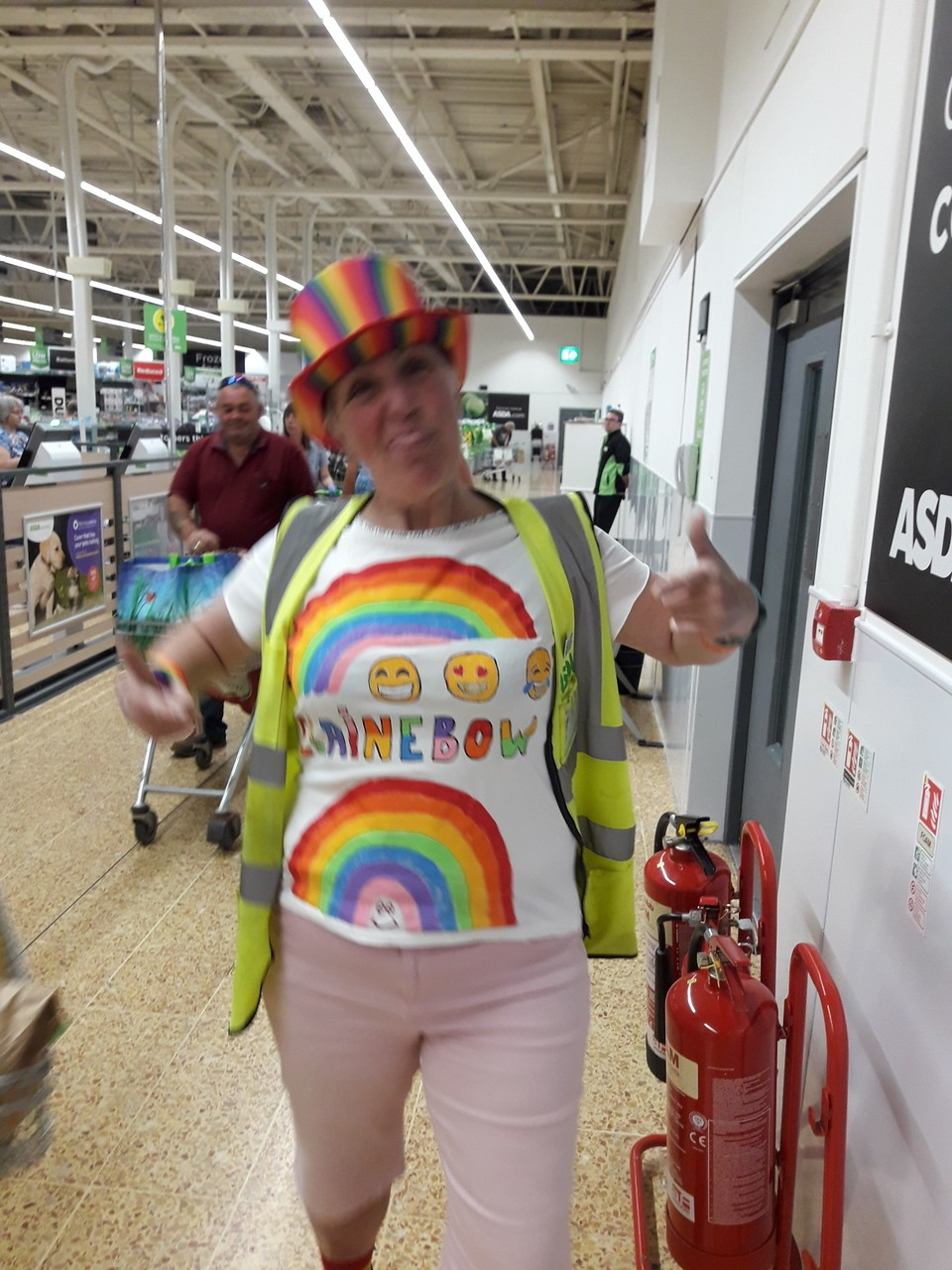 Amother rainbow thursday instore | Asda Taunton