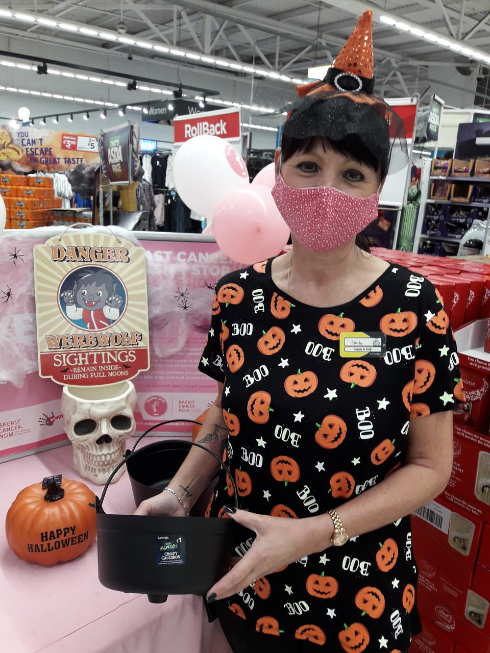 Halloween fun for Tickled Pink | Asda Gosforth