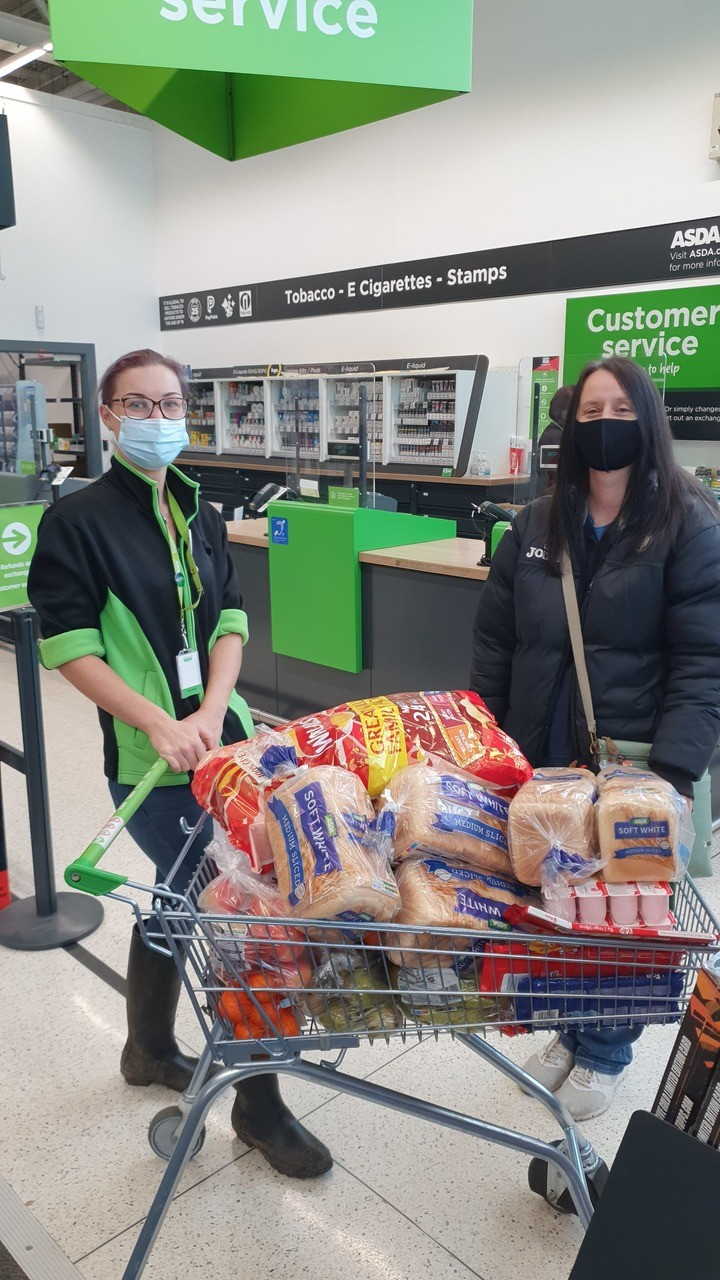 Supporting club's drive to provide free packed lunches this half-term | Asda Bishop Auckland