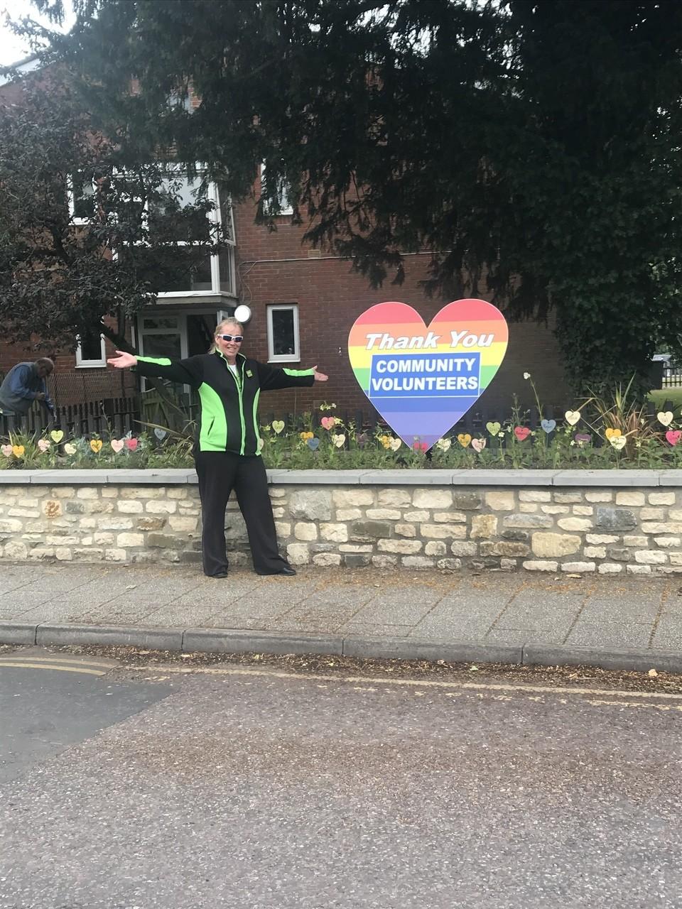 Colleague Karen honoured for voluntary work during lockdown | Asda Gillingham