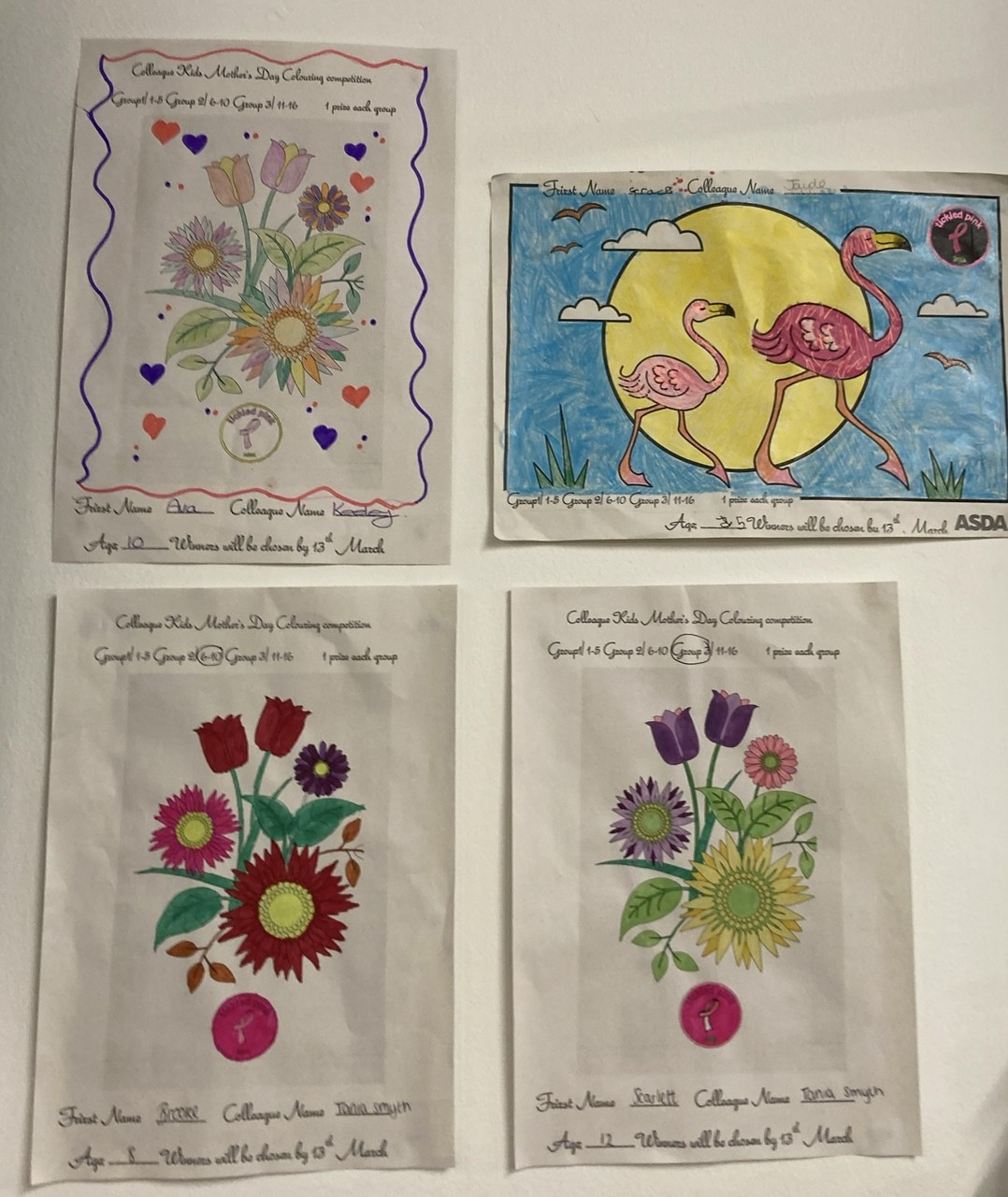 Colleague Kids Colouring Competition  | Asda Harlow