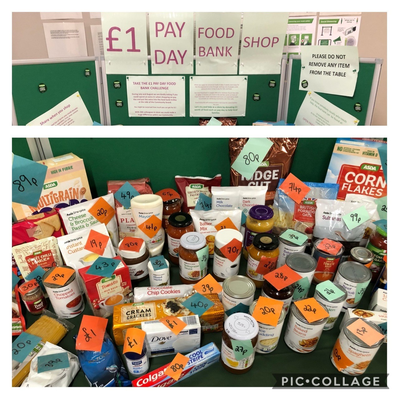Fight Hunger Create Change   Asda Langley Mill