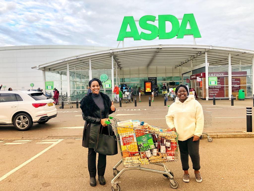 Ddonation for The Feel Good Community | Asda Leyton Mills
