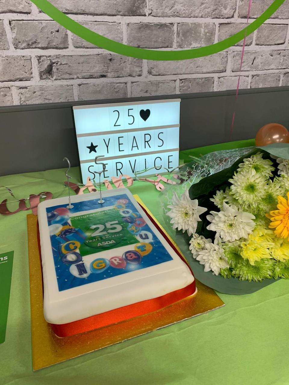 Celebrating 25 years of service for three amazing colleagues | Asda Milton Keynes