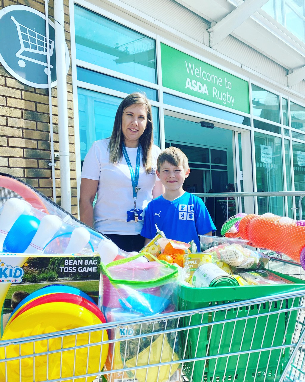Donations, donations, donations | Asda Rugby