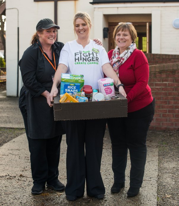 Middlesbrough Fight Hunger Jenny, Kat and Helen
