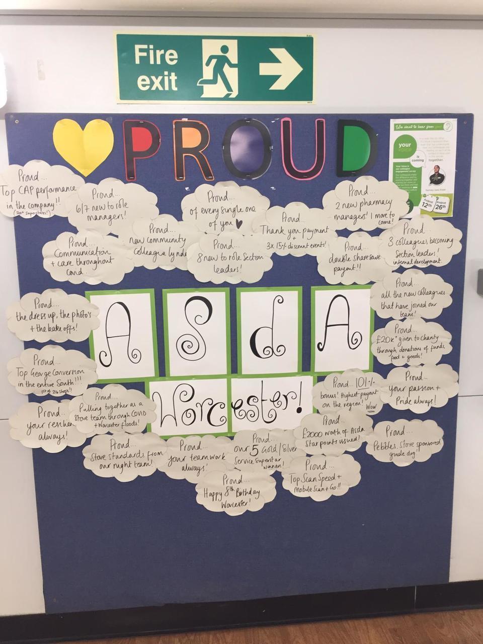 Proud to be ASDA | Asda Worcester