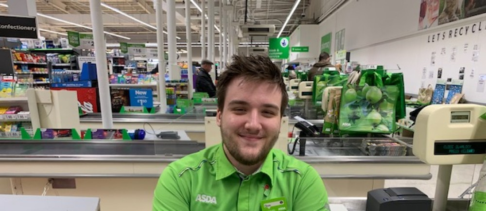 Great customer service from Oren Brown at Asda Spennymoor