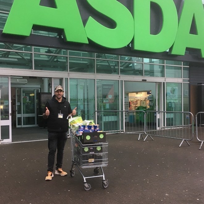 Donation to Street Friends in Aberdeen | Asda Dyce