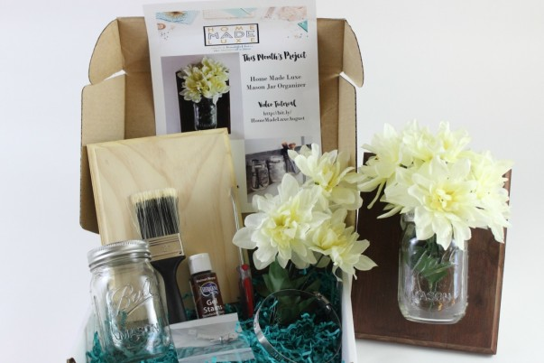 Home Made Luxe - Mason Jar Project