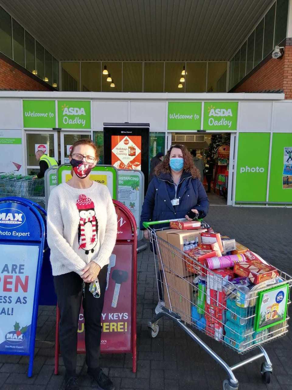 Donations today in Oadby... | Asda Oadby