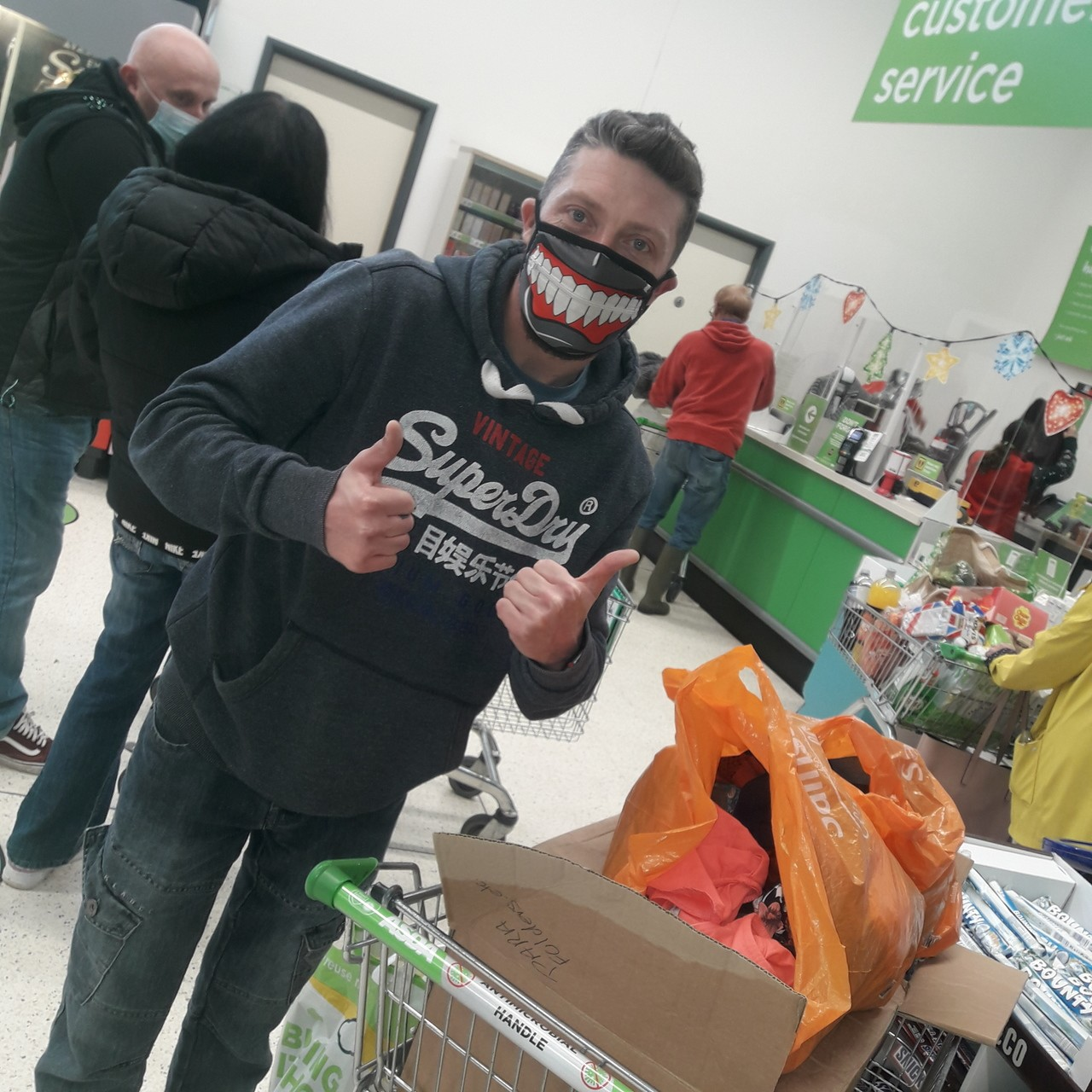 Colleagues donate to homeless charity | Asda Bodmin