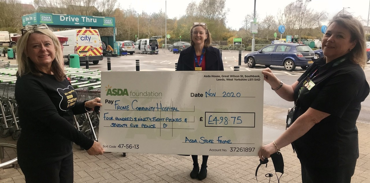 Frome Hospital Hygiene Grant | Asda Frome