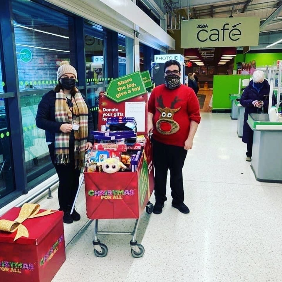 Community Toy Appeal support | Asda Tain