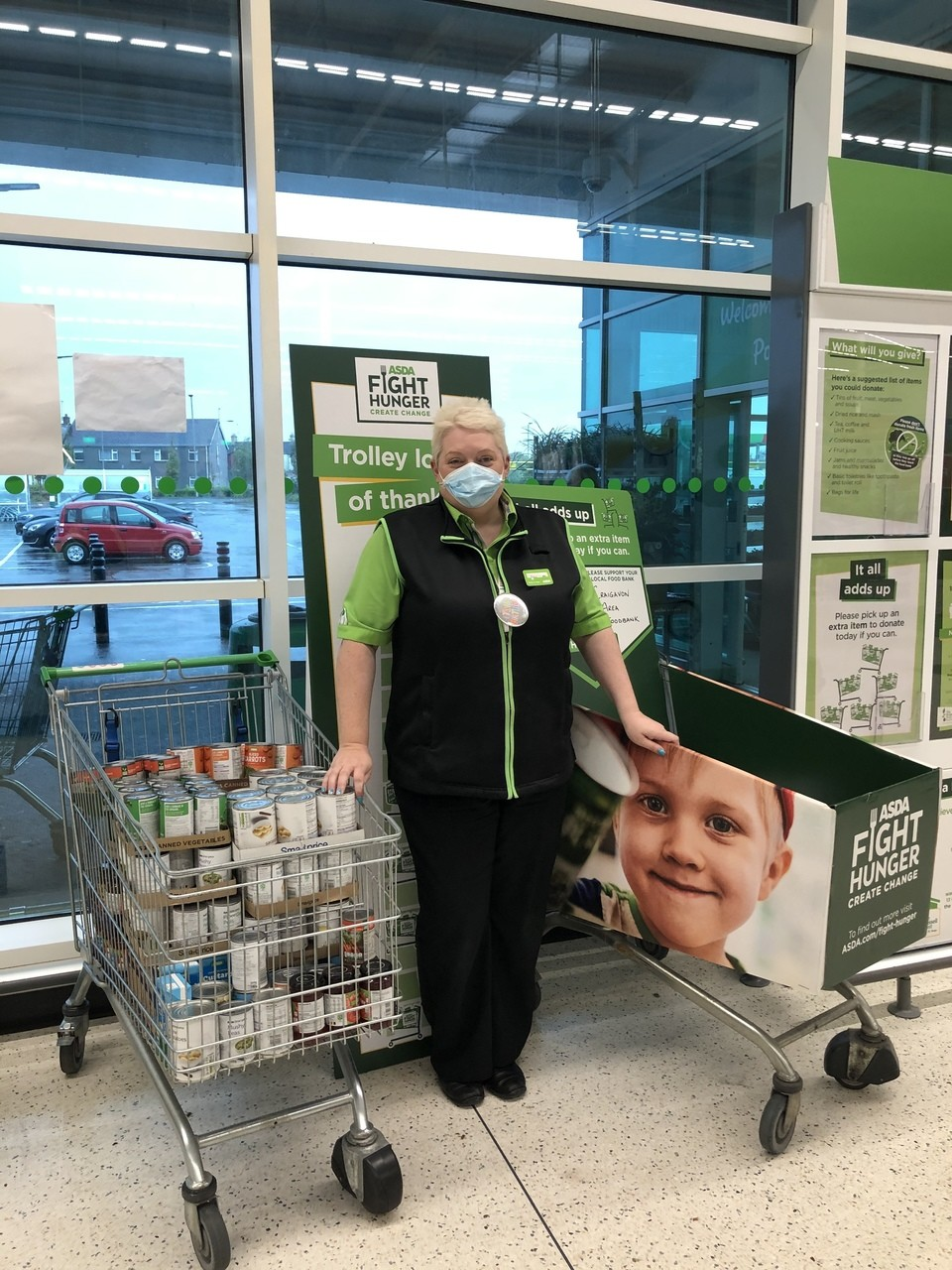 Supporting Craigavon Area Foodbank | Asda Portadown