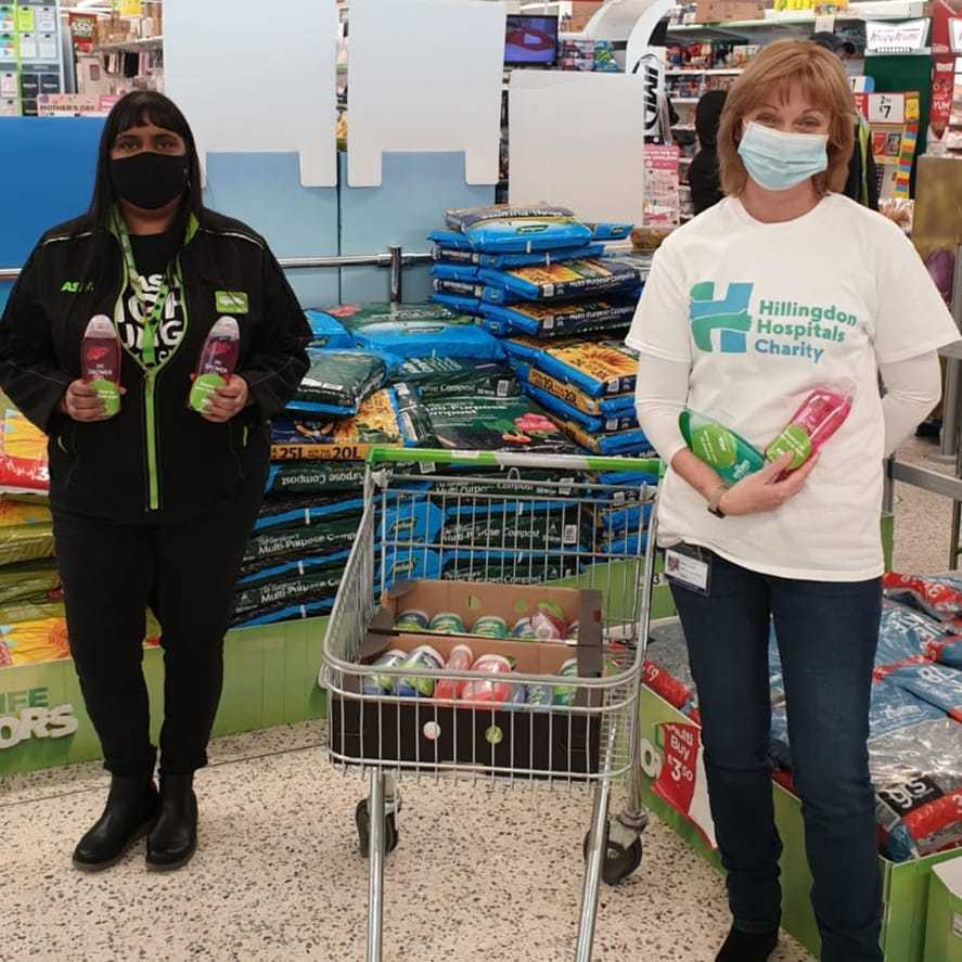 Supporting patients in hospital | Asda Hayes