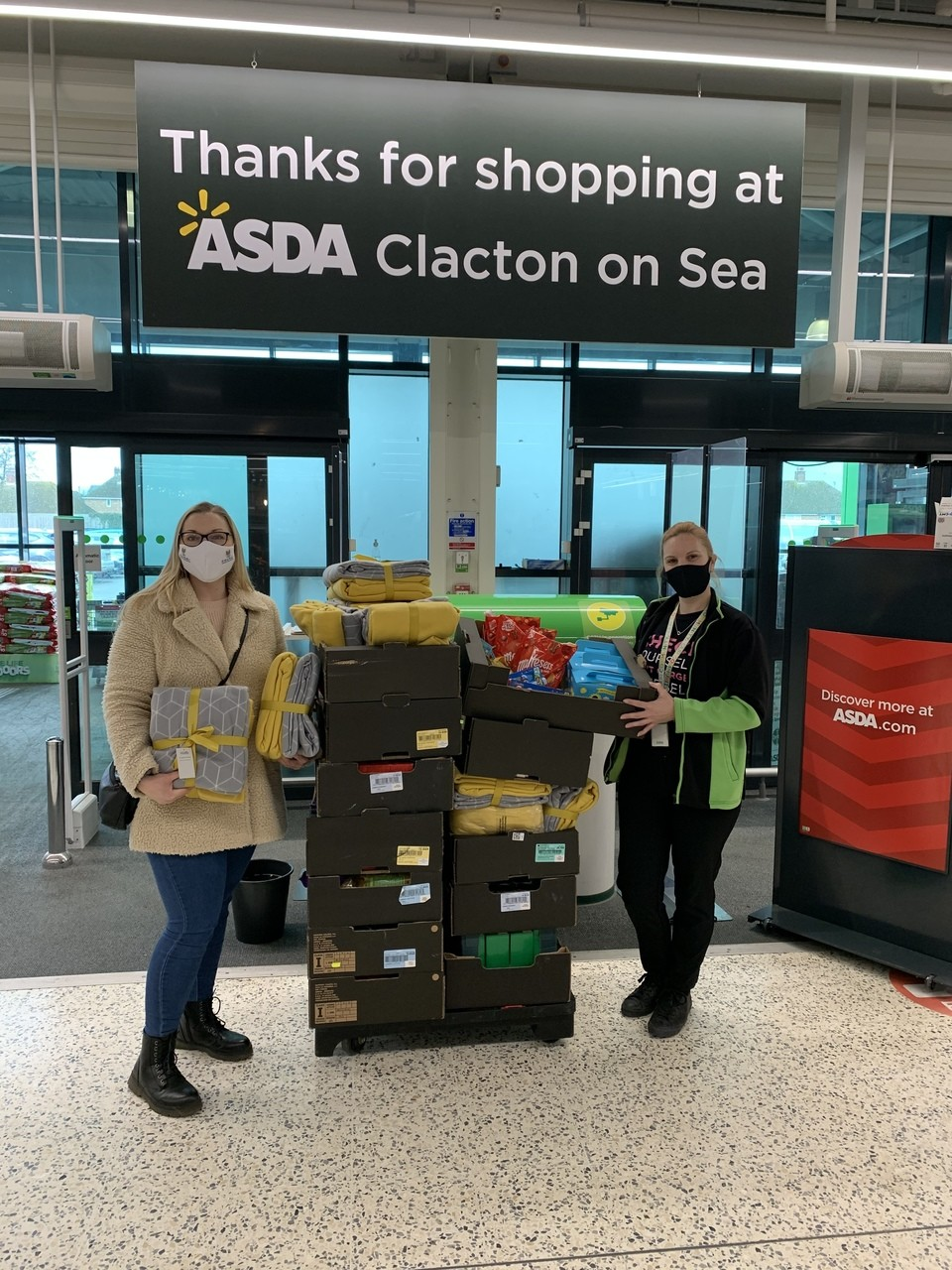 Extra support for families   Asda Clacton-on-Sea