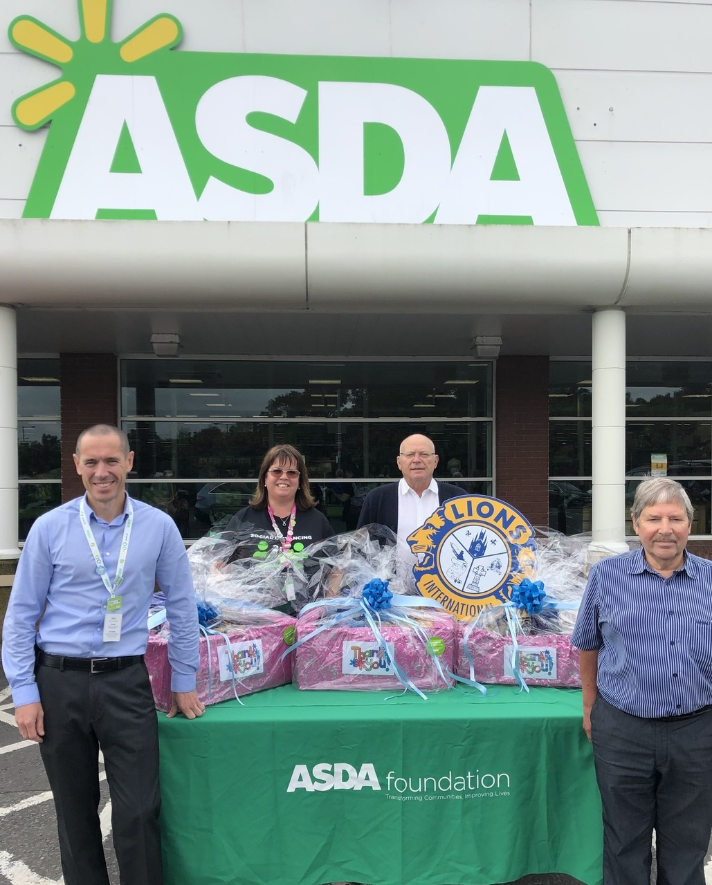 Thank you to care home colleagues | Asda Downpatrick