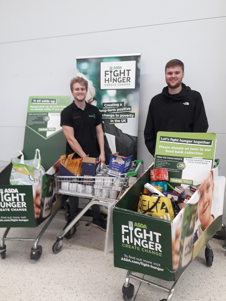 Fight Hunger food drive | Asda Bootle
