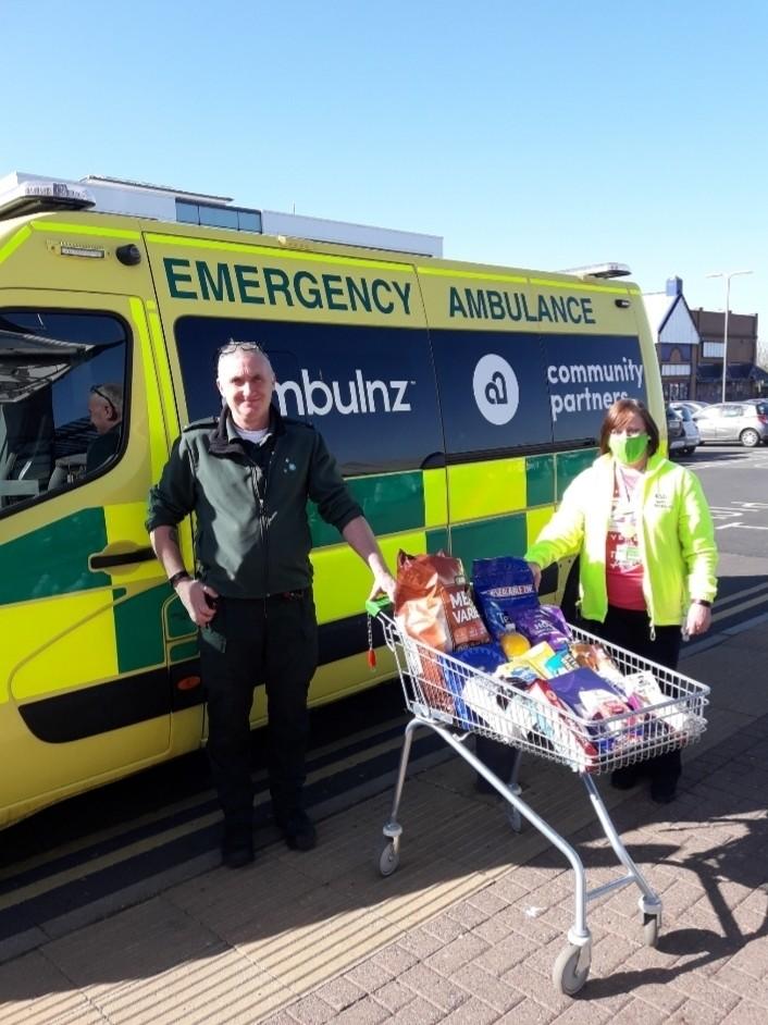 Ambulance treats | Asda Cramlington