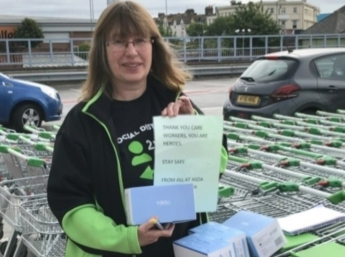 Donation of Face Masks | Asda Bournemouth