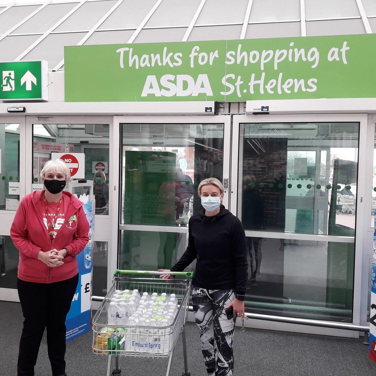 Asda St Helen's donates........ | Asda St Helens