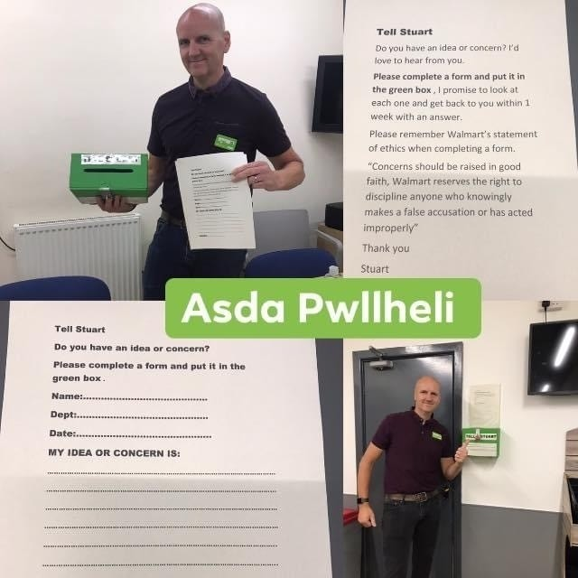 Its good to Talk 👍 | Asda Pwllheli