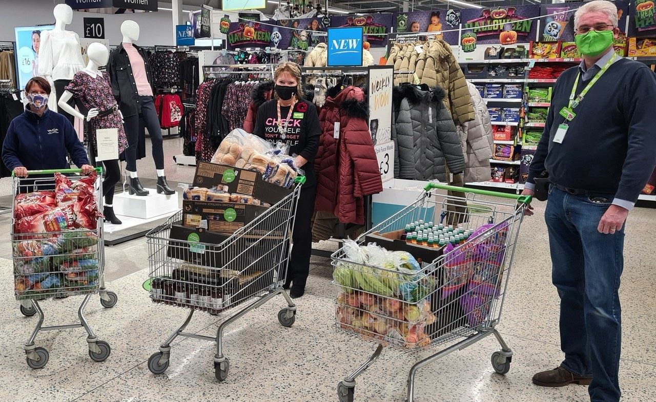 Free half-term packed lunches   Asda Newport Isle of Wight