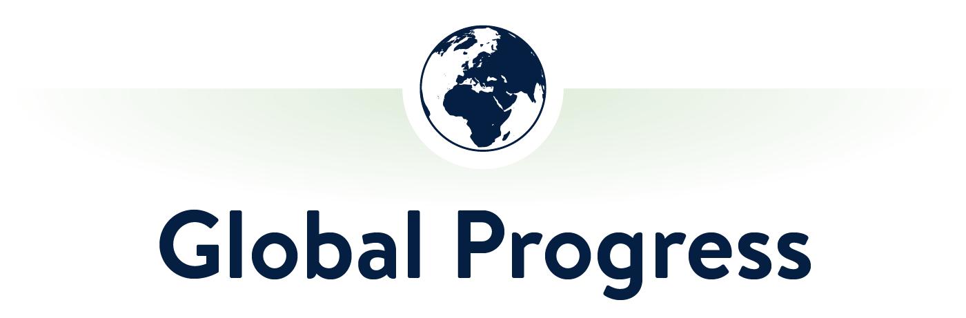 Global Progress Sustainable Packaging Progress Section Header