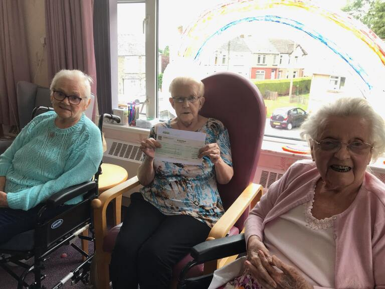 Foundation Grant to Beatrice Webb care home | Asda Blackwood
