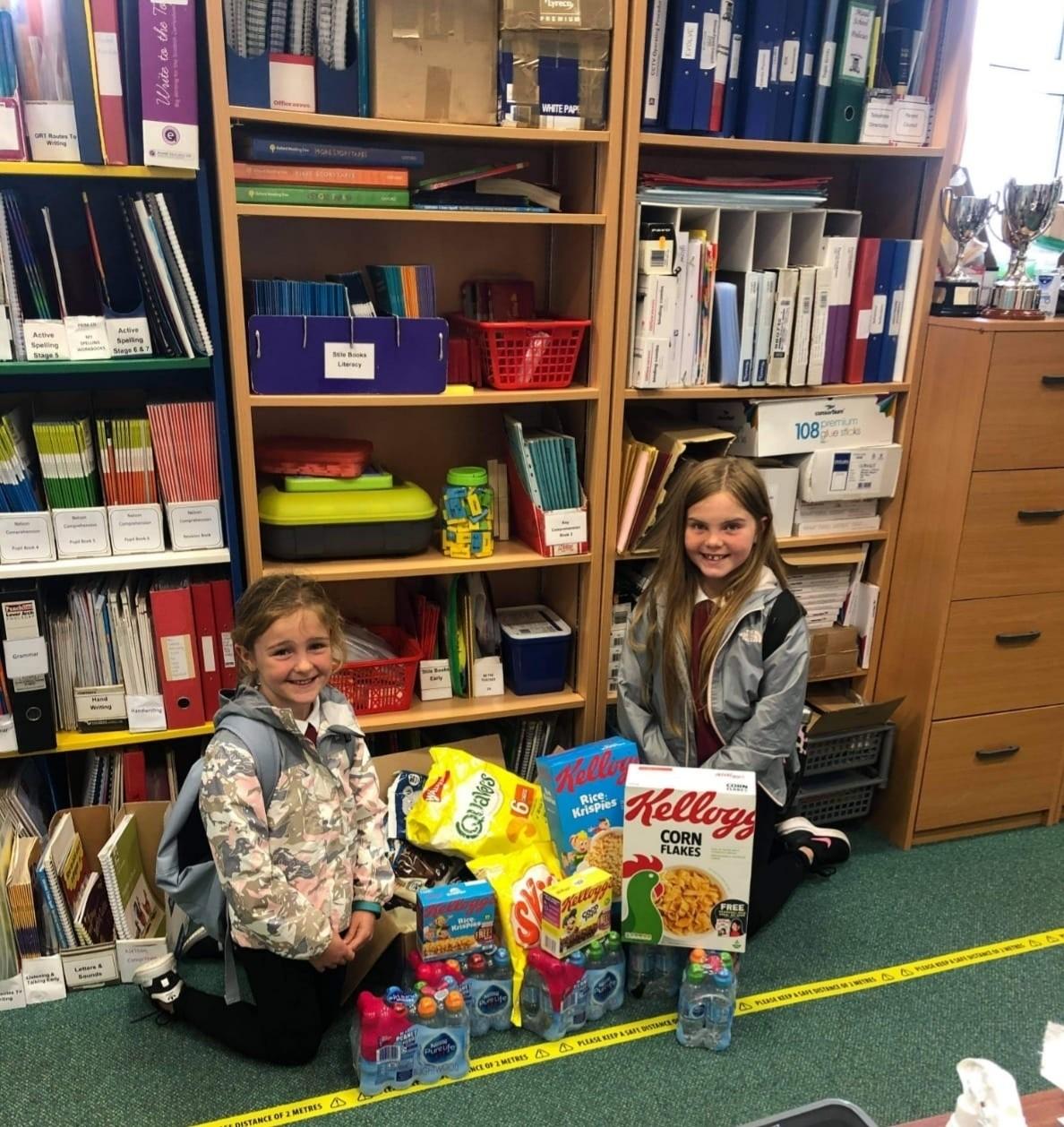 Donations to local school | Asda Peterhead