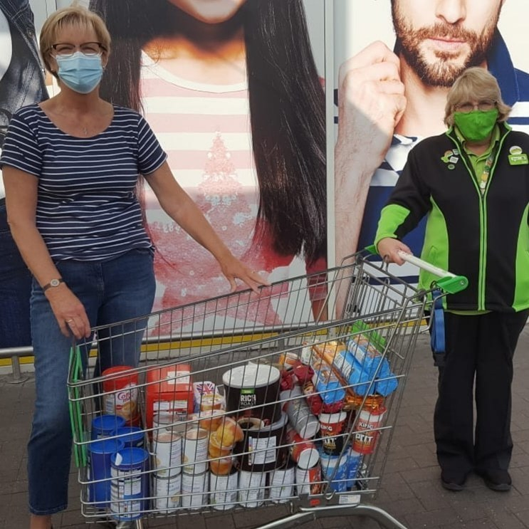 Feeding the homeless  | Asda Queensferry