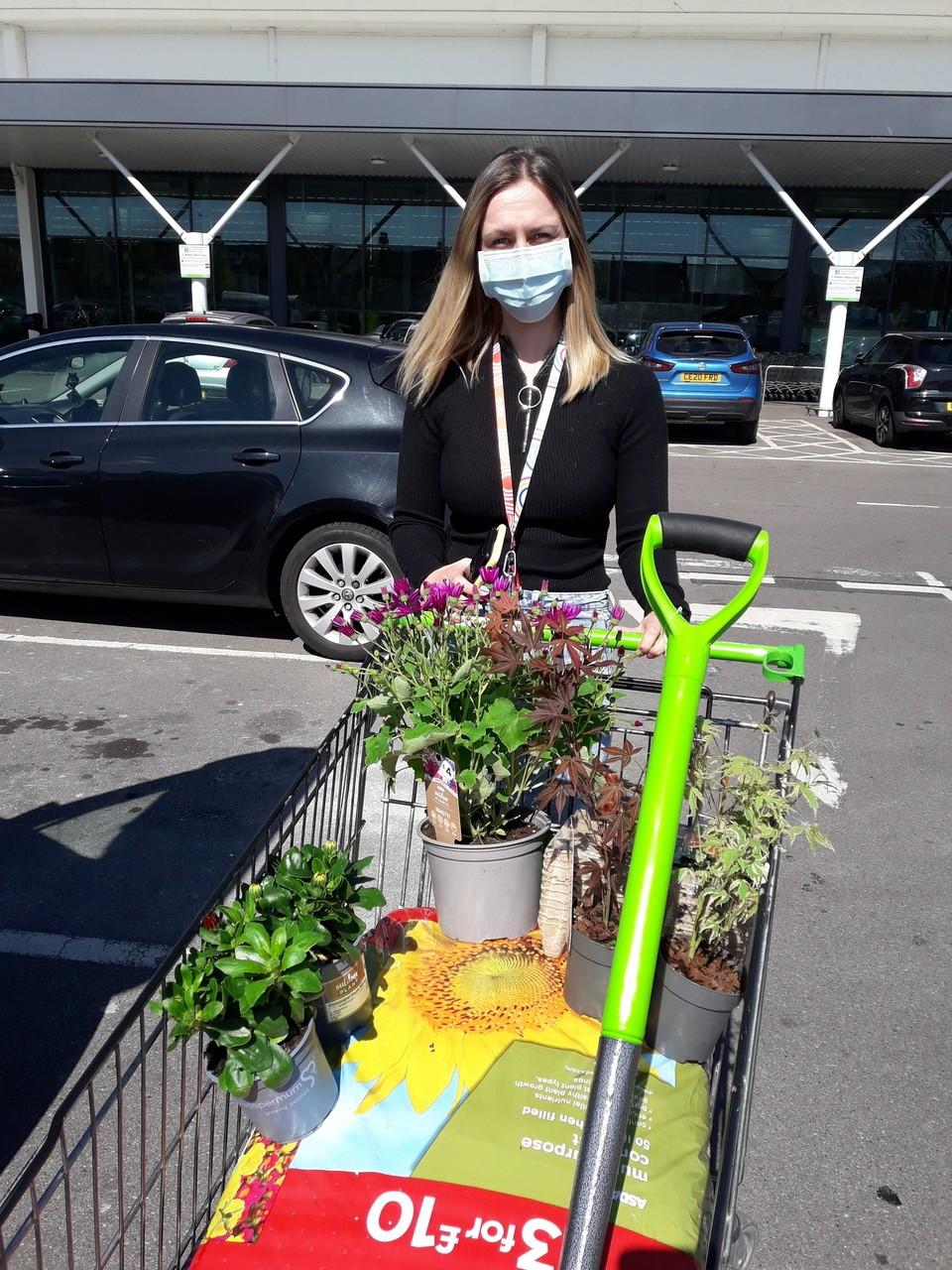 Gardening project | Asda Newport Pillgwenlly
