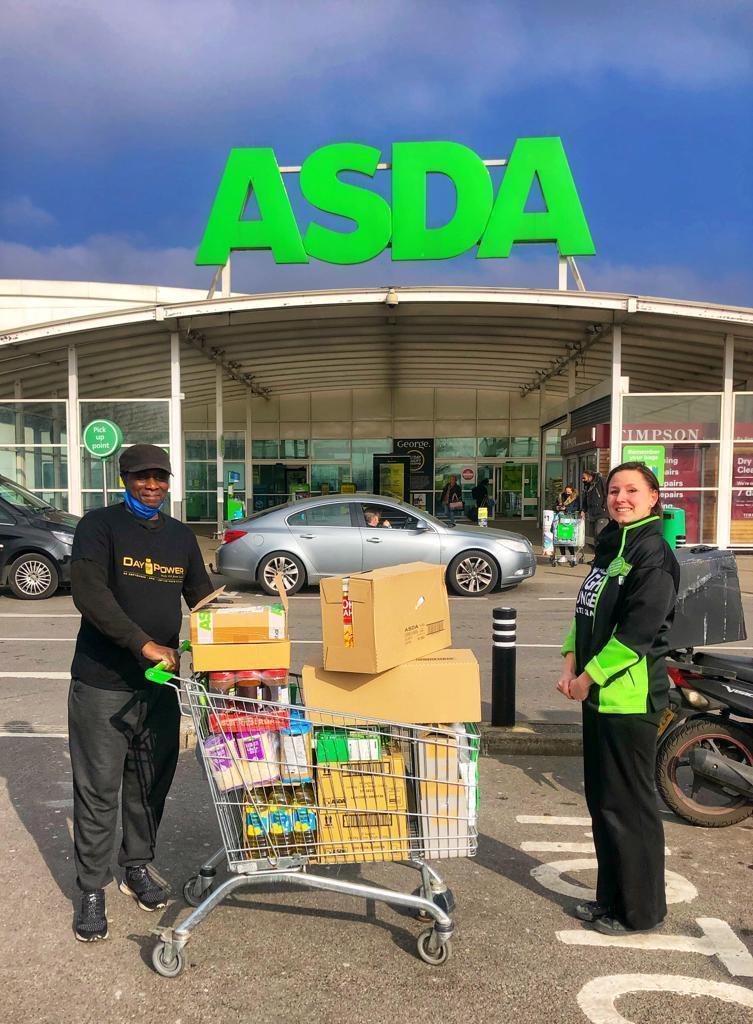 Foodbank donation | Asda Leyton Mills