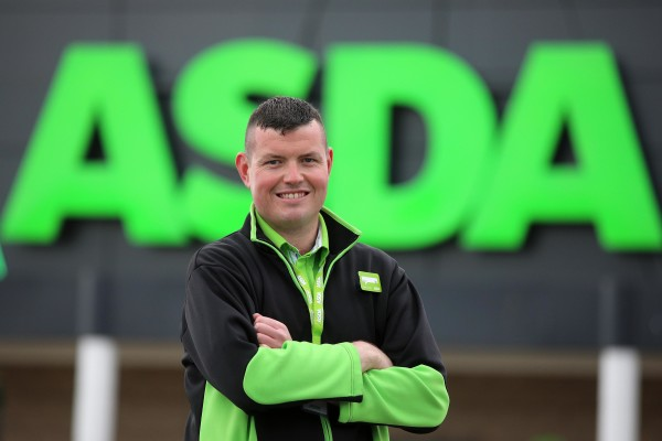 Aidan Campbell from Asda Cookstown